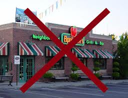 No to Applebee's Grill and Bar