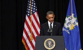 President Obama speaking at Newtown CT memorial service (16DEC2012)