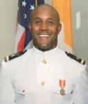 Christopher Dorner (in U.S. Navy uniform)