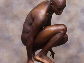 BM nude, squat
