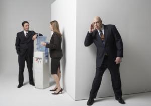 Co-worker or supervisor/boss eavesdropping
