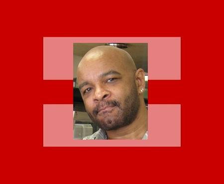 Equality support symbol,metal red (large) -RFXP