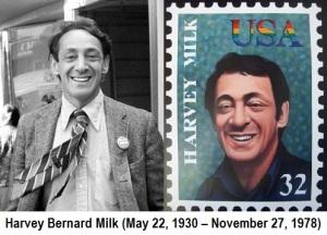 Harvey Milk-1978, HM postage stamp