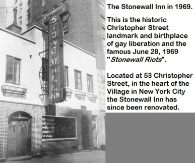 Stonewall Inn-June 28, 1969
