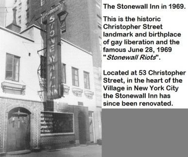 Stonewall Inn-June 28, 1969