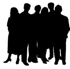 Silhoette-people