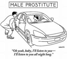 male prostitute humor