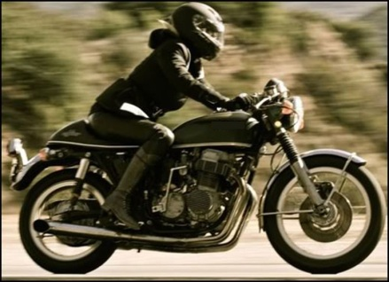 Women riding motorcycle-1