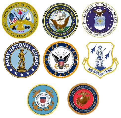 US Armed Forces-logos