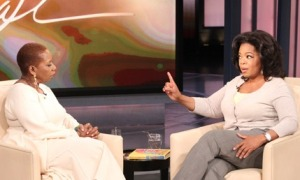 Iyanla Vanzant on Oprah