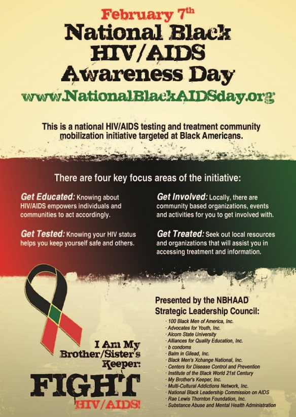 National Black HIV_AIDS Awareness Day (Feb 7, 2014)