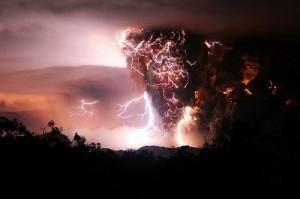 Nature angry