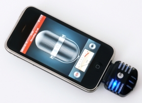 iPhone mic recorder