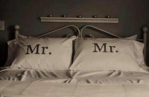 Mr & Mr Pillows cases