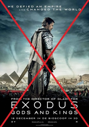 Exodus_Gods and Kings (2014) poster