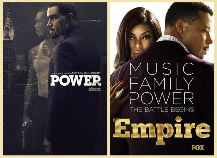 Power (Starz series), Empire (Fox series) (re)
