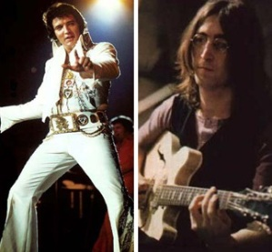 Elvis Presley, John Lennon