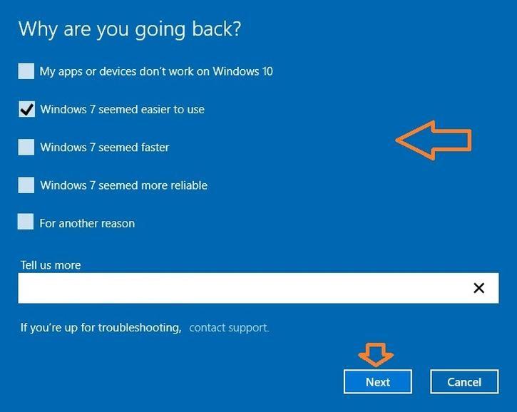Windows 10 - going back (Robz edit)