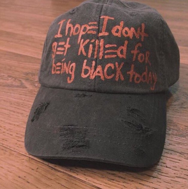 Ballcap_Don't get killed 4 being Black